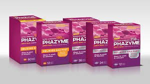 Image 1 of Simethicone 180 Mg 60 Capsules By Phazyme
