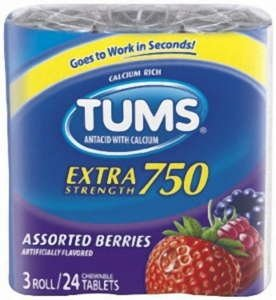 Image 0 of Tums Extra Tablet Berry 3 Roll 12X3X8Ct By Glaxo Smith Kline