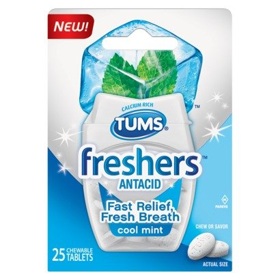 Image 0 of Tums Freshers Cool Mint Tab 25 Ea By Glaxo Smith Kline