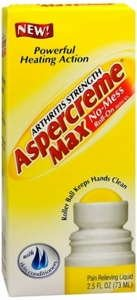 Image 0 of Aspercreme Arthritis Strength MAX Roll-on - 2.5 oz