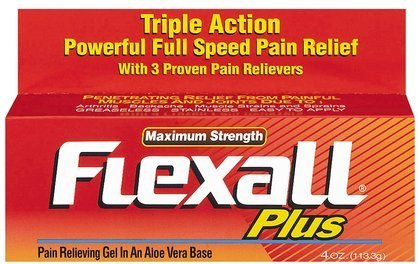 Flexall Gel Ultra Plus 4Oz By Chattem Drug & Chem Co