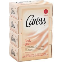 Caress Bath Bar Daily Silk 4X4.75 Oz