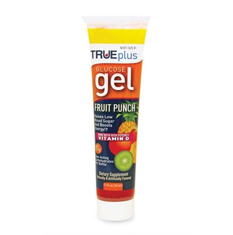 TRUEplus Glucose Gel Fruit Punch 6x1.4oz