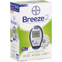 Image 0 of Bayer Breeze 2 Glucose Meter By Bayer Healthcare Diabetes Div.