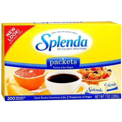 Splenda Packet 200Ct By J&J Consumer Swell Allowance