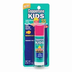 Coppertone Kids Sunscreen Stick  SPF 55  SPF 55 0.6 oz