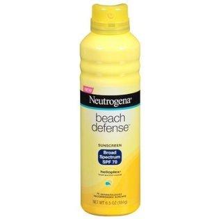 Neutrogena Beach Defense SPF70 Spray 6.5 Oz.