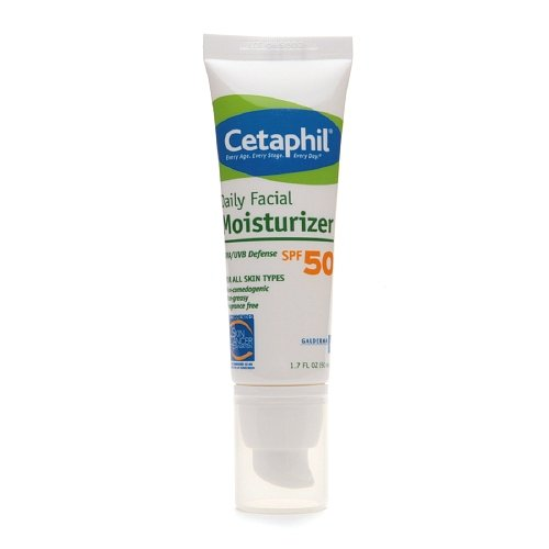 Cetaphil Face Moisture Spf 50 UVA/UVB 1.7 Oz