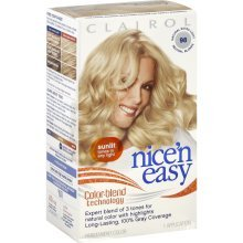 Clairol Nice 'N Easy Permanent Color, Natural Extra Light Neutral Blonde 98