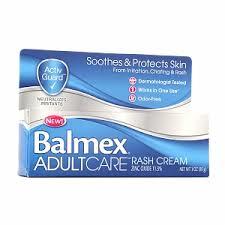 Balmex Adult Rash Care Cream 3 oz