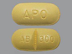 Abacavir 300 MG 60 Tabs By Apotex