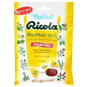 Image 0 of Ricola Bag S/F Mountain Herb 19ct