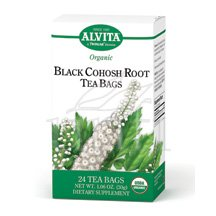 Organic Black Cohosh Tea 24 Bag By Alvita Tea