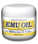 Emu Oil Cream 4 Oz By B.N.G. Natural Treasures