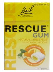 Image 0 of Rescue Gum Stress Relief 12x17 count Case by BACH