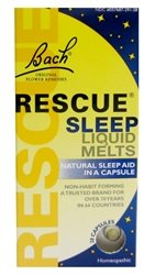 Image 0 of Bach Rescue Sleep Liq Melts 28