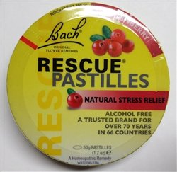 Image 0 of Bach Rescue Remedy Pastille Cranberry 12 x 50 Gr