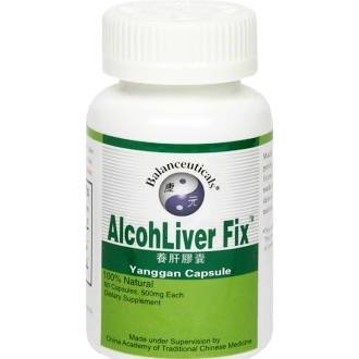Alcohliver Fix 1x60 Cap Each by BALANCEUTICALS