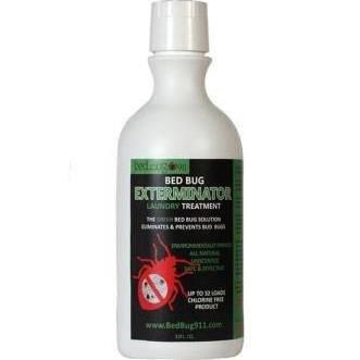 Bed Bug Laundry Treatment 1x32 Fluid oz Each by BED BUG ERADICATOR