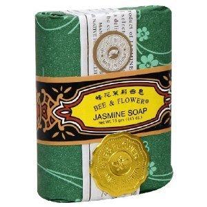 Bee & Flower Jasmine Bar Soap 12 x 2.65 Oz