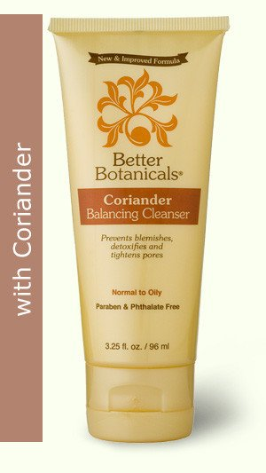 Image 0 of Balancing Cleanser Coriander 1x3.25 Fluid oz Each by BETTER BOTANICALS