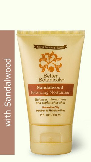 Image 0 of Moisturizer Balancing Sandlewood 1x2 Fluid oz Each by BETTER BOTANICALS