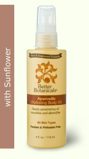Image 0 of Body Oil Hydrate Ayurvedic 1x4 Fluid oz Each by BETTER BOTANICALS