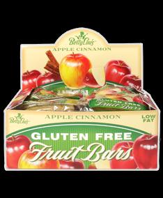 Fruit Bar Apple/Cinn Wf 12x2 oz Case by BETTY LOU'S