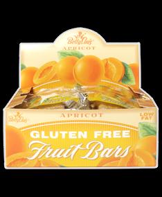 Betty Lou's Fruit Bar Apricot Wf 12 x 2 Oz