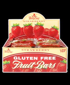 Fruit Bar Strawberryerry Wf 12x2 oz Case by BETTY LOU'S