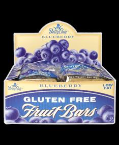Fruit Bar Blueberry Wf 12x2 oz Case by BETTY LOU'S