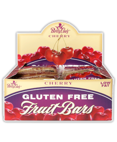 Fruit Bar Cherry Wf 12x2 oz Case by BETTY LOU'S