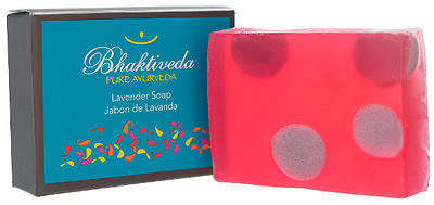 Image 0 of Bar Soap Lavender 1x3.53 oz Each by BHAKTIVEDA