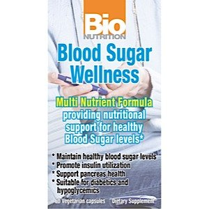 Image 0 of Blood Sugar Wellness 1x60 VCap Each by BIO NUTRITION INC