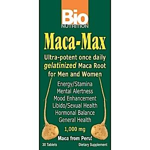 Image 0 of Maca Max 1x30 Tab Each by BIO NUTRITION INC