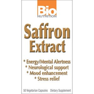 Image 0 of Saffron Extract 1x50 VCap Each by BIO NUTRITION INC