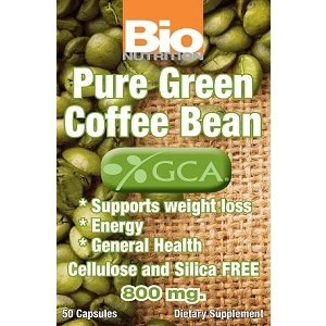 Image 0 of Pure Green Coffee Bean 1x50 GCap Each by BIO NUTRITION INC