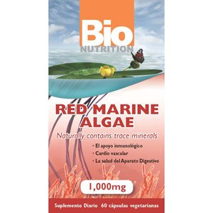 Image 0 of Red Marine Algae 1x60 VCap Each by BIO NUTRITION INC