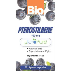 Image 0 of Pterostilbene 1x30 VCap Each by BIO NUTRITION INC