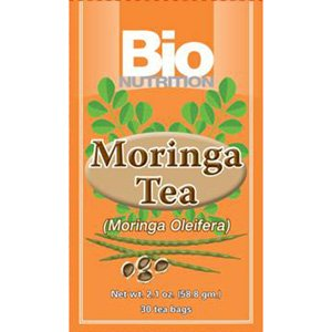 Image 0 of Tea Moringa 1x30 Bag Each by BIO NUTRITION INC