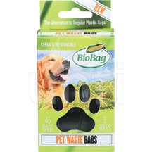Biobag Dog Waste Bags On A Roll 12 x 45 Ct