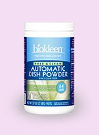 Auto Dish Powder Fr&Clr 12x32 oz Case by BIOKLEEN