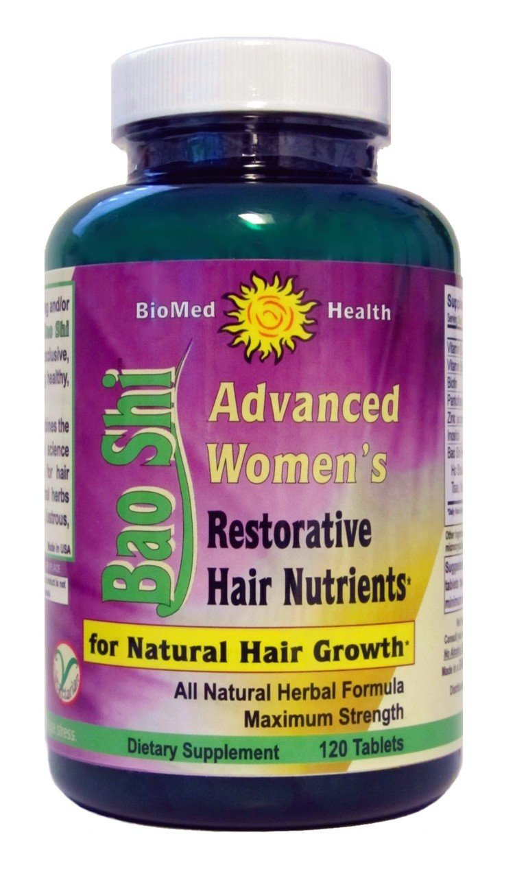 Bao Shi Womens Hair Splmt 1x120 Cap Each by BIOMED HEALTH INC