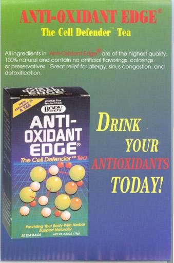 Tea Anti-Oxidant Edge 1x30 Bag Each by BODY BREAKTHROUGH