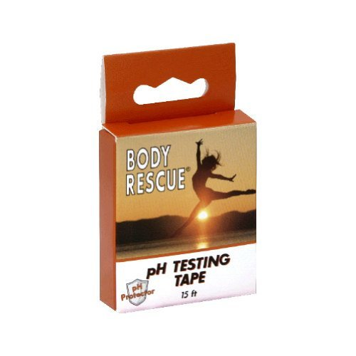 Body Ph Testing Tape 1x count Each by BODY RESCUE