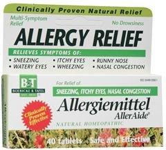 Allergiemittel Alleraide 1x40 Tab Each by BOERICKE & TAFEL