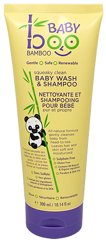 Baby Hair & Body Wash 1x10.14 Fluid oz Each by BOO BAMBOO