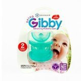 Pacifier Ortho-Gibby Todd 1x2 count Each by BRANAM ORAL HEALTH TECH