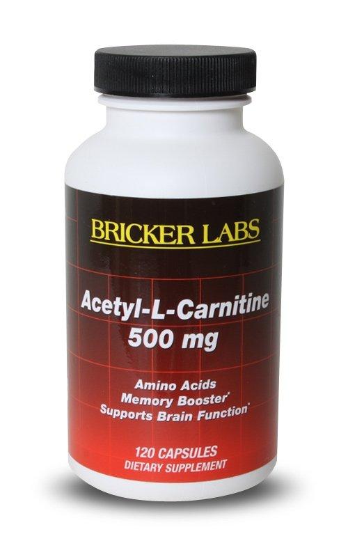 Acetyl L-Carnitine 1x120 Cap Each by BRICKER LABS