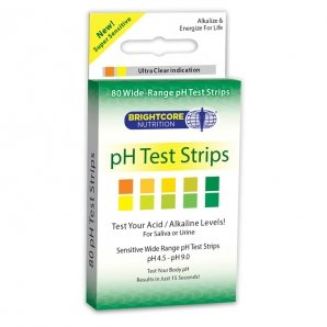Ph Test Strips 1x80 count Each by BRIGHTCORE NUTRITION/SWT WHEAT